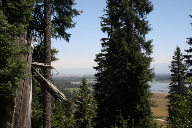 View from Twenty acres adjacent public lands