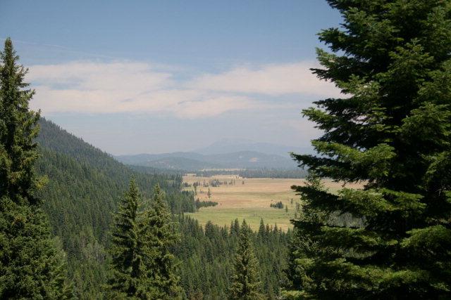 View from Twenty acres adjacent public lands