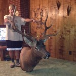 Elk gotten by owner on hunting ranch